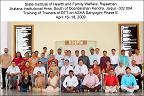 Training of Trainers of DTT on ASHA Sahayogini Phase III